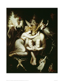 Titania Caressing Bottom with his Donkey's Head Giclee Print by Henry Fuseli