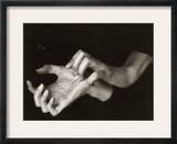 Georgia O'Keeffe (1887-1986) Framed Photographic Print by Alfred Stieglitz