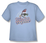 Youth: Major League - Distressed Logo T-Shirt