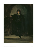 Self Portrait as Hamlet, c.1821 Giclee Print by Eugene Delacroix
