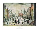 Lancashire Village Kunstdrucke von Laurence Stephen Lowry
