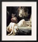 Fuseli: Nightmare, 1781 Framed Giclee Print by Henry Fuseli