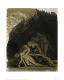 King Lear and the Dead Cordelia Giclee Print by Johann Heinrich Füssli