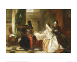 Othello Relating His Adventures, 1869 Giclee Print by Robert Alexander Hillingford