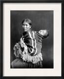 Navajo Woman & Child, C1914 Framed Photographic Print