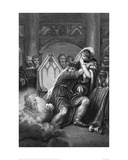 Illustration from MacBeth c. 1820 Giclee Print by Amadeus Wenzel Böhm