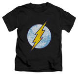 Youth: The Flash - Flash Neon Distress Logo T-shirts