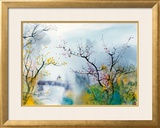 Lovers at Chi Tou Framed Giclee Print by Chi Wen