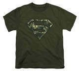 Youth: Superman - Super Camo T-Shirt