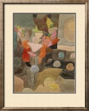 Still Life with Gladioli; Gladiolen Still Leben Framed Giclee Print by Paul Klee