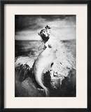 Nude As Mermaid, 1898 Framed Photographic Print by  Gulick