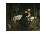 The Sons of Edward IV in the Tower, 1830 Giclee Print by Paul Delaroche