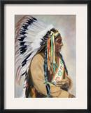 Sitting Bull (1834-1890) Framed Photographic Print
