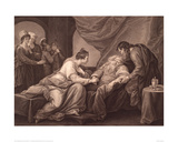 King Lear and Cordelia, 1791 Giclee Print by Daniel Berger