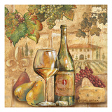Umbrian Beauty - Wine Giclee Print by Gregory Gorham
