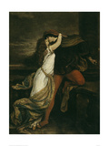 Romeo and Juliet, c. 1869 Wydruk giclee autor Victor Müller