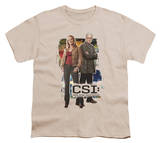 Youth: CSI - Back to Back T-shirts