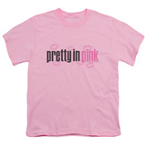 Youth: Pretty in Pink - Logo T-Shirt
