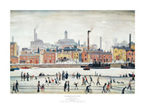 Northern River Scene Posters by Laurence Stephen Lowry