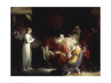 King Lear and his Three Daughters Giclee Print by William Hilton