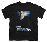 Youth: CSI New York - Justice Served T-shirts
