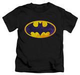Juvenile: Batman - BM Neon Distress logo T-shirts