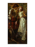 Ophelia and Laertes, 1879 Giclee Print by William Gorman Wills