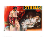 Othello Poster Giclee Print by  Anonymous
