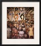 Rivera: Day Of The Dead Framed Giclee Print by Diego Rivera