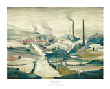 Industrial Panorama Poster by Laurence Stephen Lowry