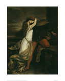 Romeo and Juliet, c. 1869 Print by Victor M&#252;ller