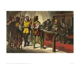 Borachio and Conrade Before the Judge (Much Ado About Nothing) Giclee Print by Robert Dudley