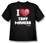 Youth: Saturday Night Fever - I Heart Tony T-Shirt