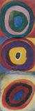 Wassily Kandinsky Farbstudie Quadrate Art Print Bookmark Bookmark
