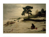 Blow, Blow, Thou Winter Wind, 1892 Giclee Print by Sir John Everett Millais