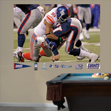 Justin Tuck SB Sack Mural Wall Decal