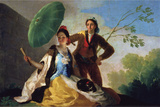 The Parasol Wall Decal by Francisco De Goya