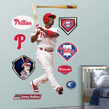 Jimmy Rollins Wall Decal