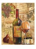 Wine Collage I Premium Giclée-tryk af Gregory Gorham