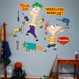Phineas and Ferb Wall Decal Sticker Wall Decal