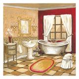 Florentine Bath - Red Premium Giclée-tryk af Gregory Gorham