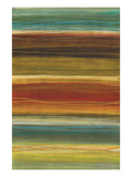 Organic Layers II - Stripes, Layers Reproduction procédé giclée par Jeni Lee