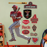 Justin Upton   Wall Decal
