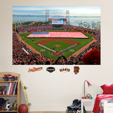 San Francisco Giants AT&T Park Flag Mural Wall Decal