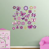 Garden Collection Wall Decal