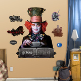 Mad Hatter Wall Decal