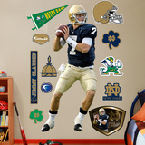 Jimmy Clausen Notre Dame Wall Decal