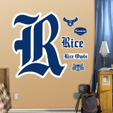 Rice Logo   Wall Decal