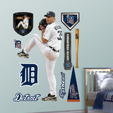Justin Verlander 2012 Wall Decal