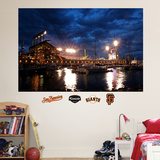 San Francisco Giants AT&T Park Harbor Mural Wall Decal